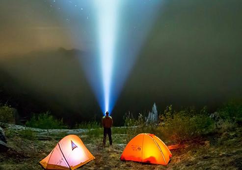 Mountain flashlight