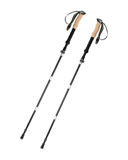 Adjustable Carbon Foldable Trekking Pole