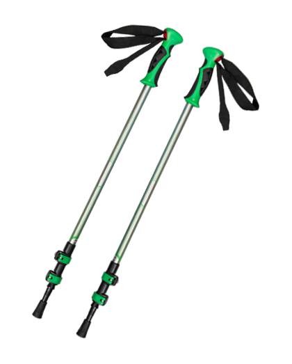 Plastic Handle Light Folding Trekking Poles