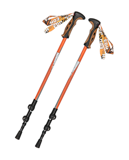 3-section Aluminum Speed Lock Trekking Pole
