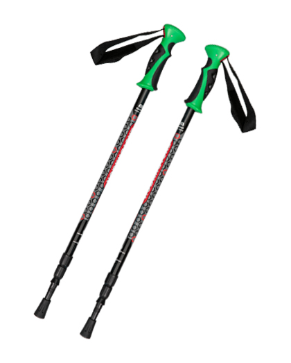 How to use trekking poles correctly