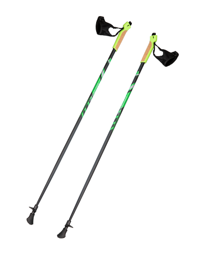 Cork Grip Durable Aluminum Walking Pole