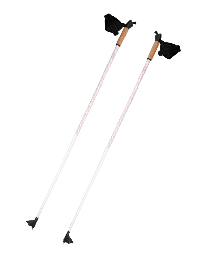 Aluminum Cross Country Pole With Cork Handle