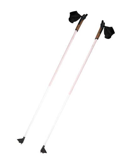 1 Section Carbon Cross Country Pole