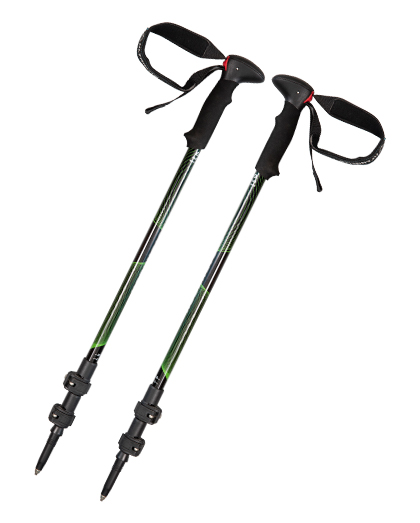 EVA Handle Aluminum Quick Lock Trekking Pole