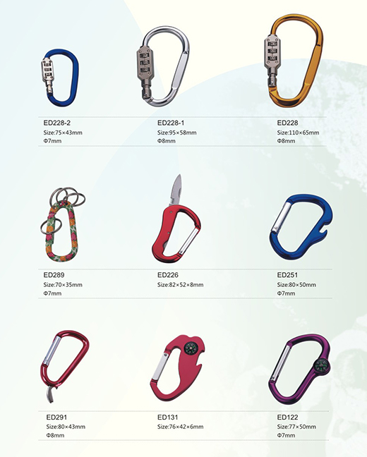 Understand the correct usage of carabiner