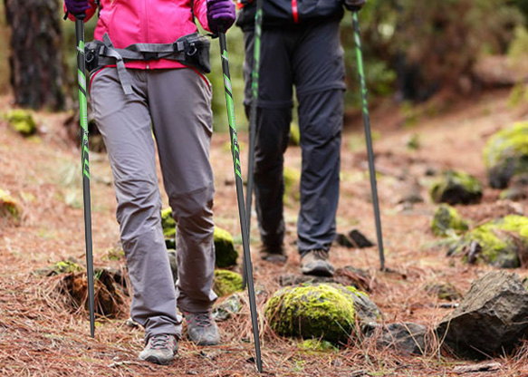 How to choose trekking poles outdoors?
